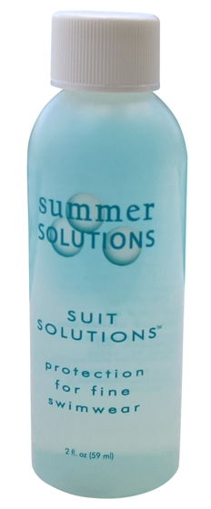 Summer Solutions Designer Suit Solutions Chlorine Neutralizing 2oz Swimsuit Rinse and Light Cleaner