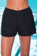 Ladies Chlorine Proof AquaShort Black
