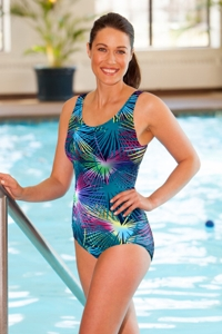 Dolfin Chlorine Resistant Mambo Moderate Scoop Back Suit