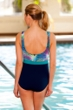 Dolfin Chlorine Resistant Mambo Block Moderate Scoop Back Suit