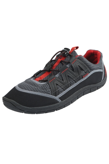Northside Dark Gray and Red Brille II Men's Water Shoes