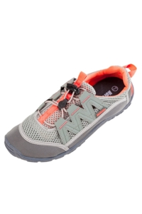 Northside Brille II Gray and Coral Women's Water Shoes