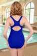 Krinkle Royal Active Back One Piece Chlorine Resistant Swimsuit