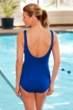 Krinkle Royal Twist Front One Piece Chlorine Resistant Swimsuit