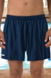 "Dolfin Navy 5"" Inseam Mesh Liner Men's Swim Trunks"