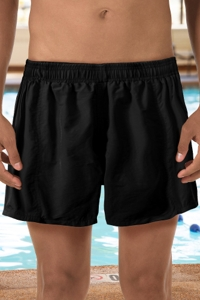 "Dolfin Black 5"" Inseam Mesh Liner Men's Swim Trunks"
