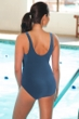 Chlorine Resistant TYR Tramanto Storm Controlfit Scoop Neck One Piece Swimsuit