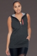 Body Glove Sport Charcoal Aisso Relaxed Fit Hoodie