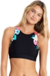 Seafolly Island Vibe Low Impact High Neck Sports Bra
