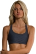 Onzie Slate Grey Geo Chic Low Impact Sports Bra