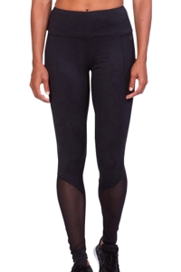 TLF Apparel Headline Black Mesh Ryder Leggings