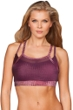 TLF Apparel Prima Medusa Mesh Overlay Vice Low Impact Sports Bra