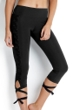Seafolly Solid Black Active Wrap Me Up Legging