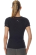 X by Gottex Black Mesh Short Sleeve Active Top