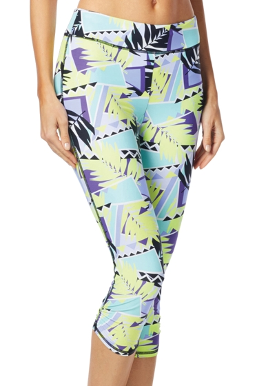 BH Sport Abstract Warrior Cobra Capri Legging