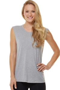 Shape Heather Grey Muscle Tee