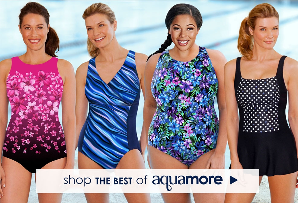 Shop AQUAMORE Brand - The best of Chlorine Resistant Swimsuits