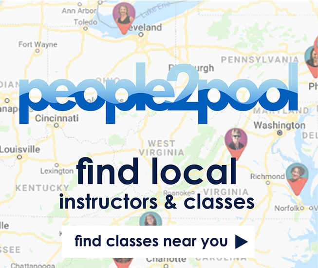 Find local Aqua Fitness classes, instructors and pools with our free People2Pool Search Tool - Proudly Sponsored by AEA Aquatic Exercise Association