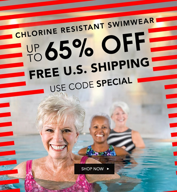 Our water fitness suits are made with polyester and poly/spandex blends that offer the best in chlorine resistant swimwear. Find your perfect suit!