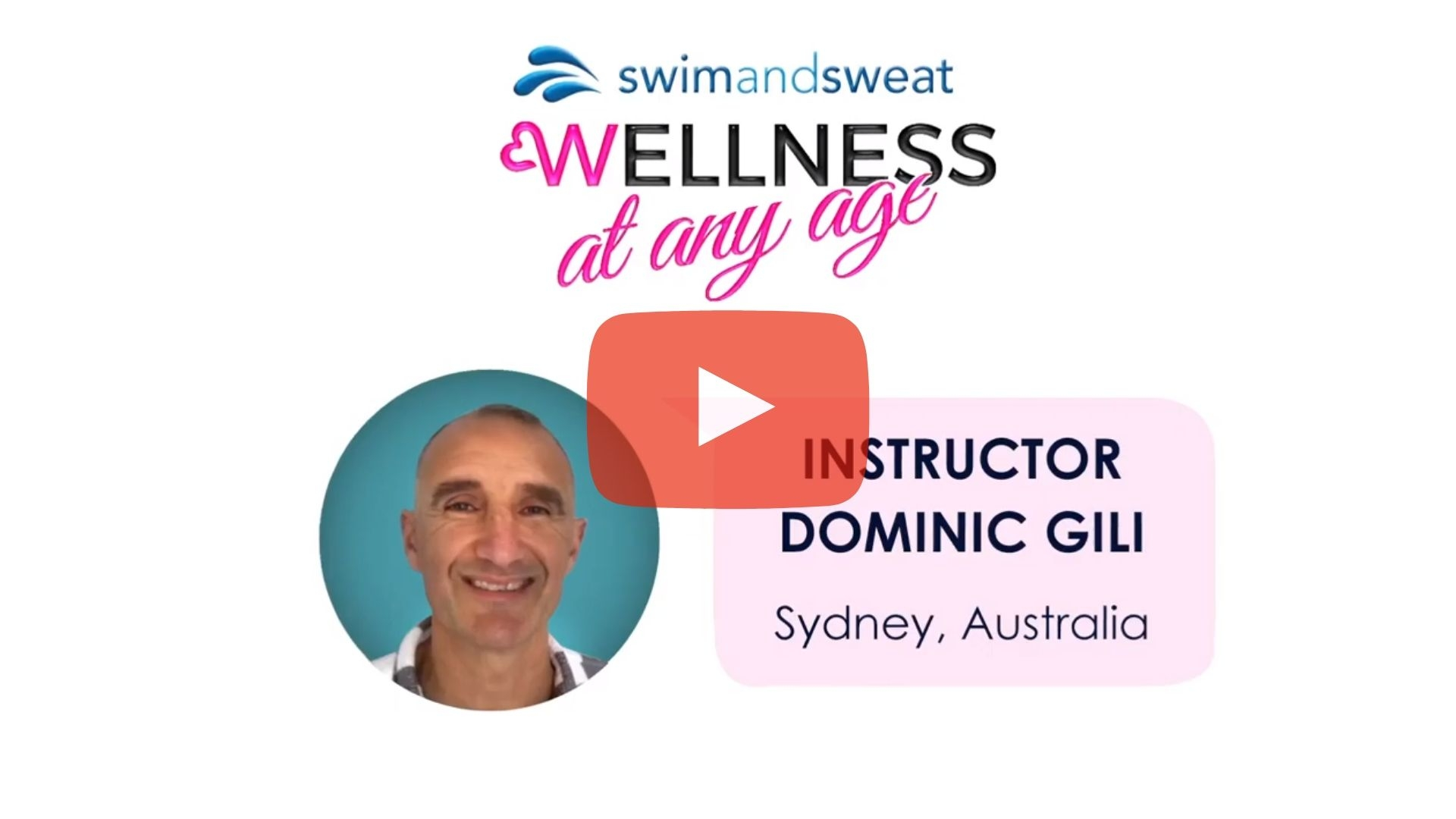 Water Exercise Testimonial: Instructor Dominic Gili