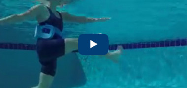 Find out how much weight you can lose doing water aerobics