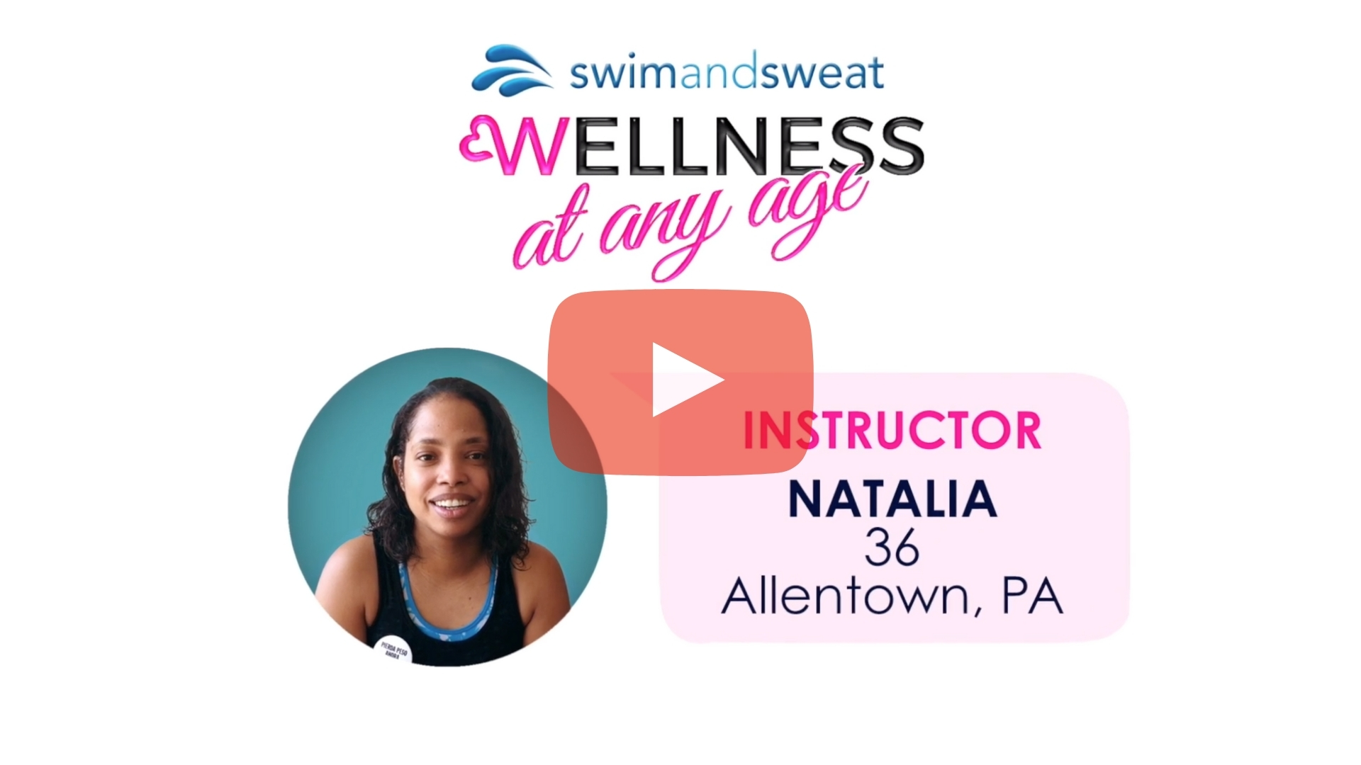 Water Exercise Testimonial: Instructor Natalia Vazques