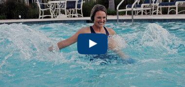 Splash Into Water Aerobics