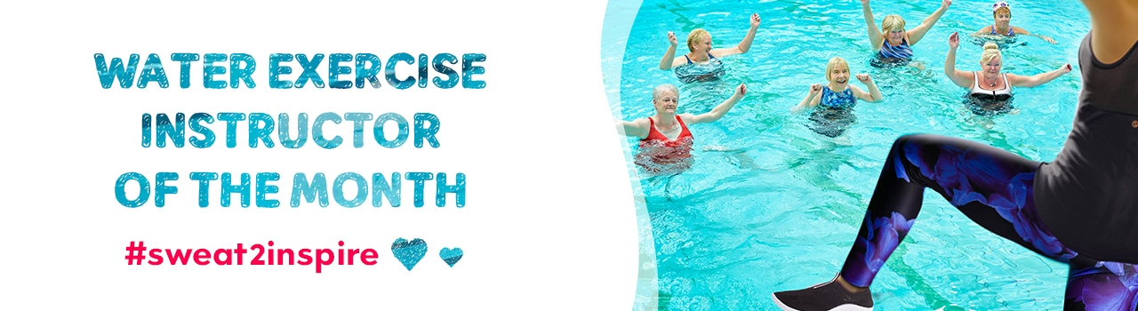 Swimandsweat Water Exercise Instructor of the Month